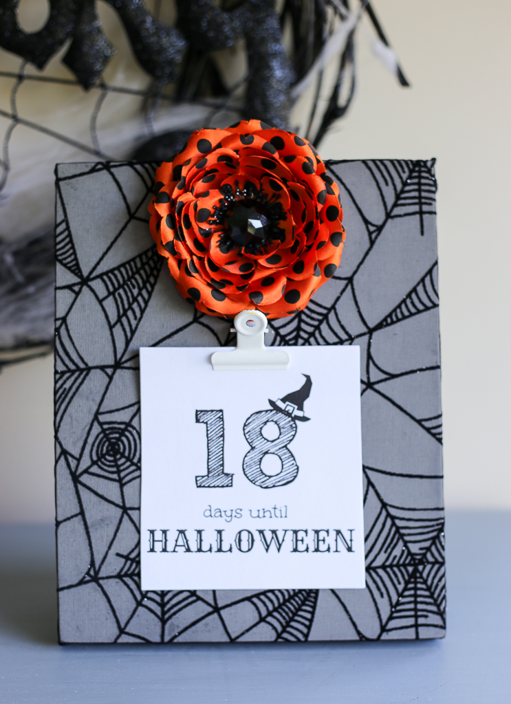 Halloween Countdown - Eighteen25