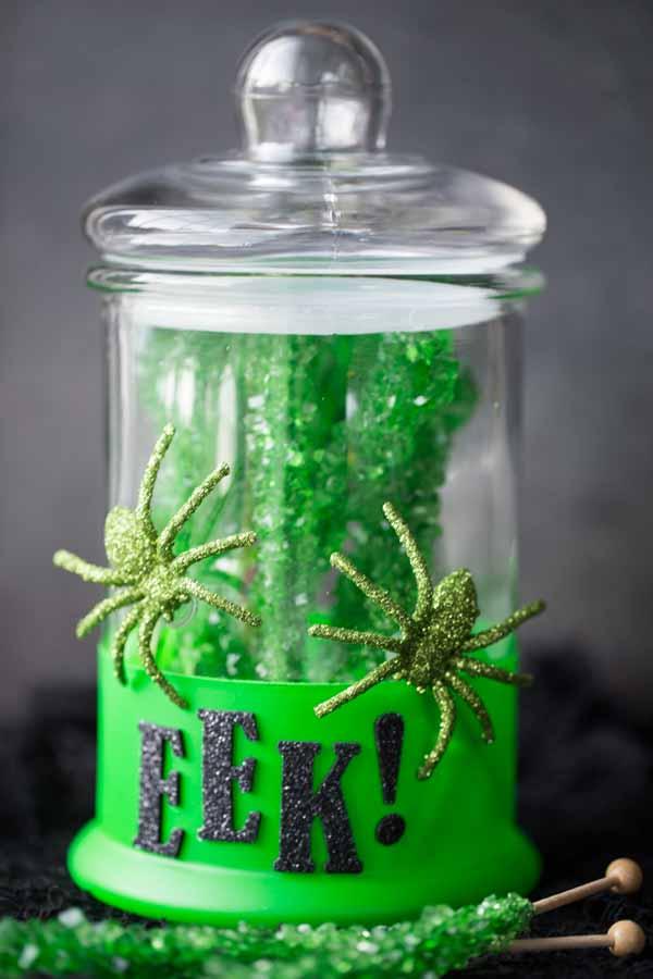 DIY Halloween Candy Jars