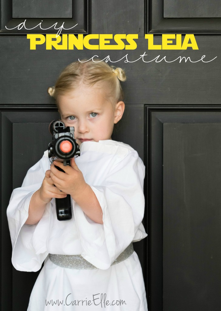 DIY Princess Leia costume