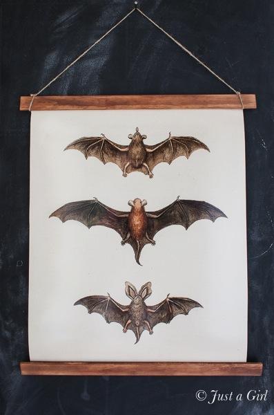 DIY Bat Print