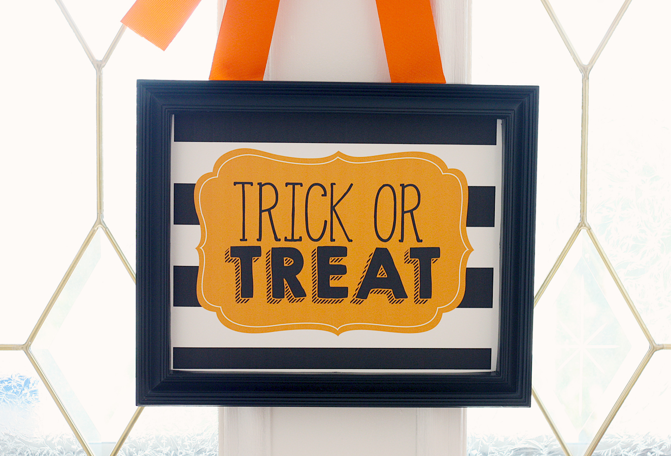 Trick or Treat Print | Free Halloween Printables