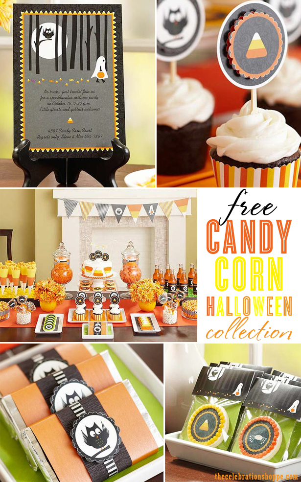 Free Halloween Candy Corn Collection