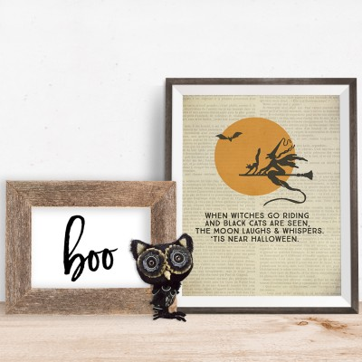 When Witches Go Riding Printable