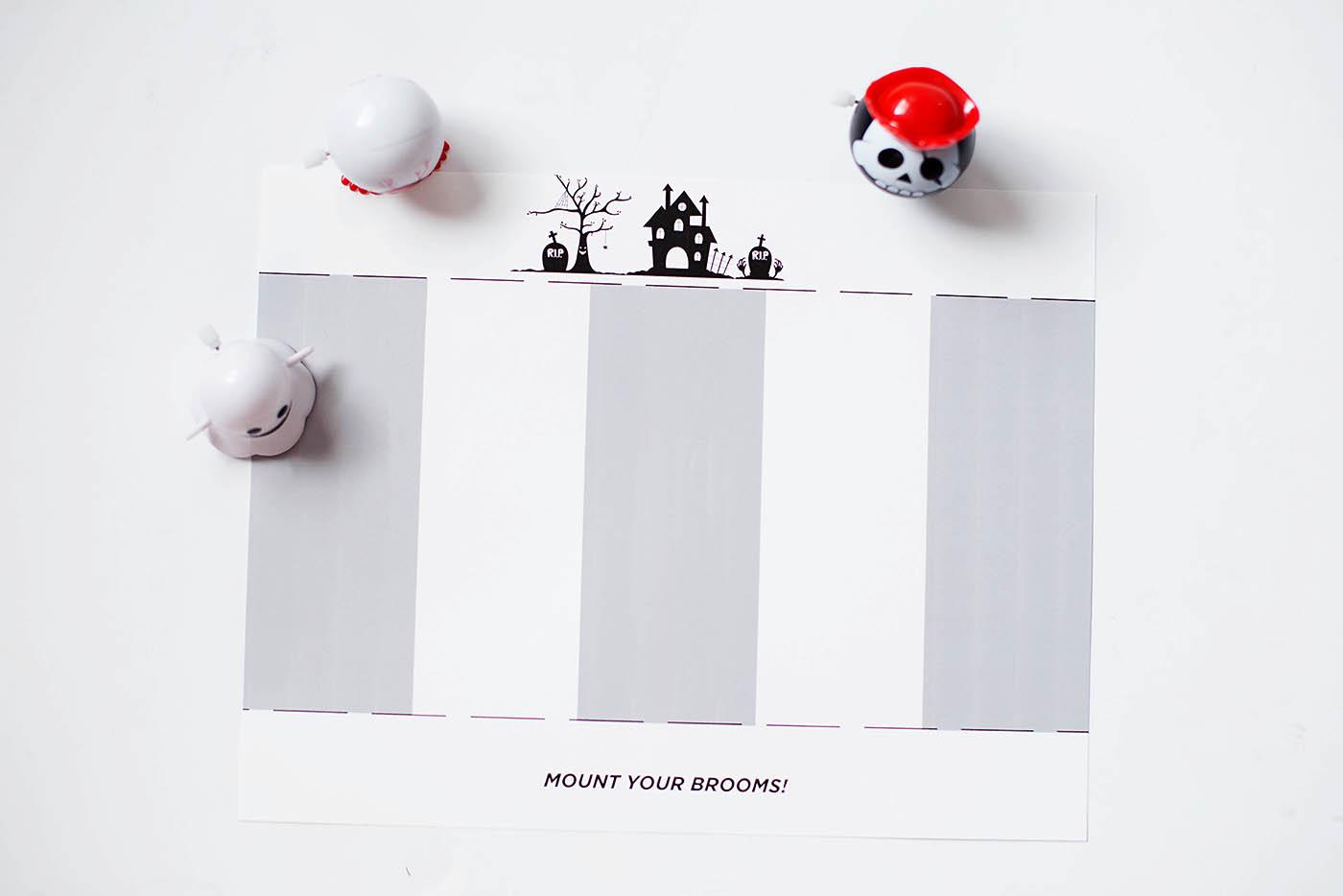 Halloween Race Game | Free Halloween Printable Game
