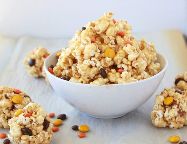 Halloween Caramel Corn | Halloween Treats