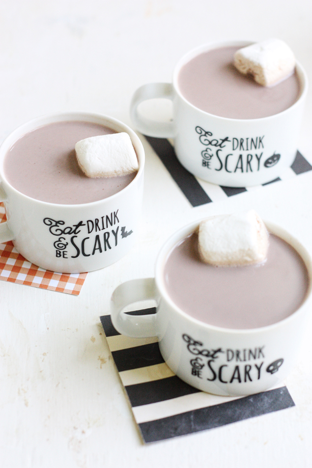 DIY Halloween Mugs | Halloween Ideas
