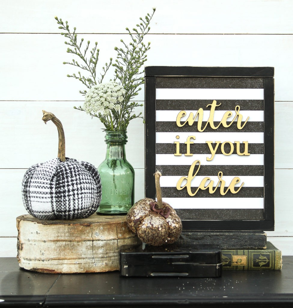 Enter If You Dare | Halloween Decorations