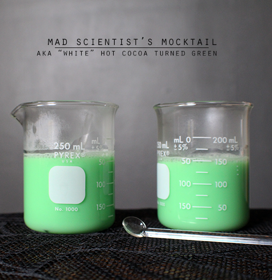 Halloween Party Beverage | Mad Scientist's Mocktail