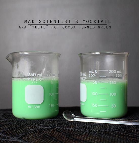 Halloween Party Beverage | Mad Scientist's Mocktail