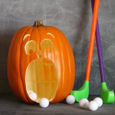 Pumpkin Golf Halloween Game