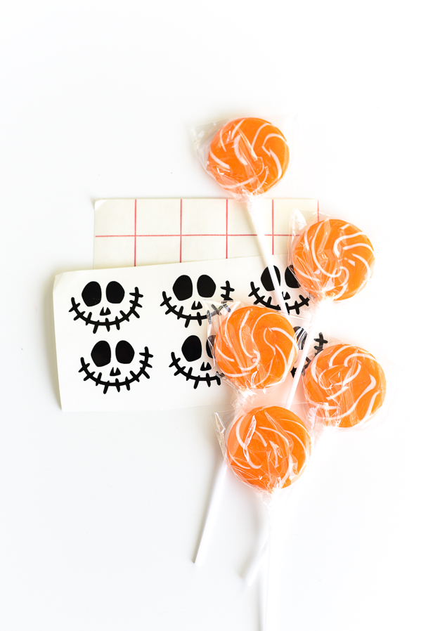 Jack-O-Lantern Lollipops | Halloween Treat Ideas