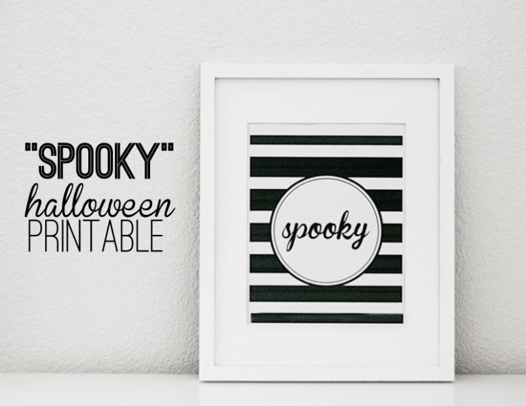 Spooky Halloween Print