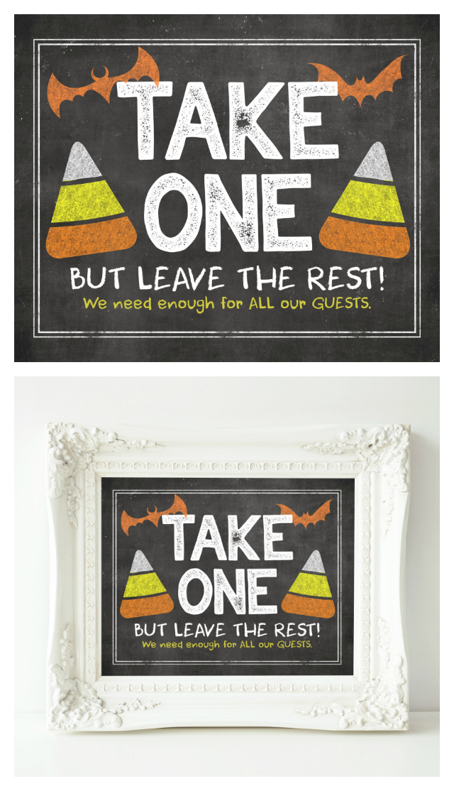 Halloween Candy Printable | Holiday Printables