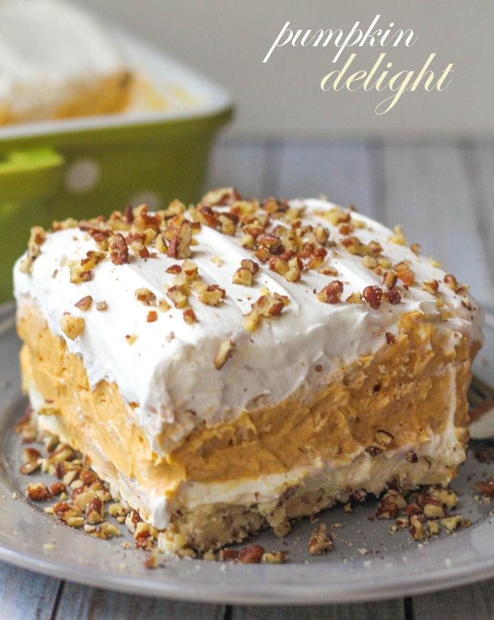Pumpkin Delight Dessert by Lil Luna