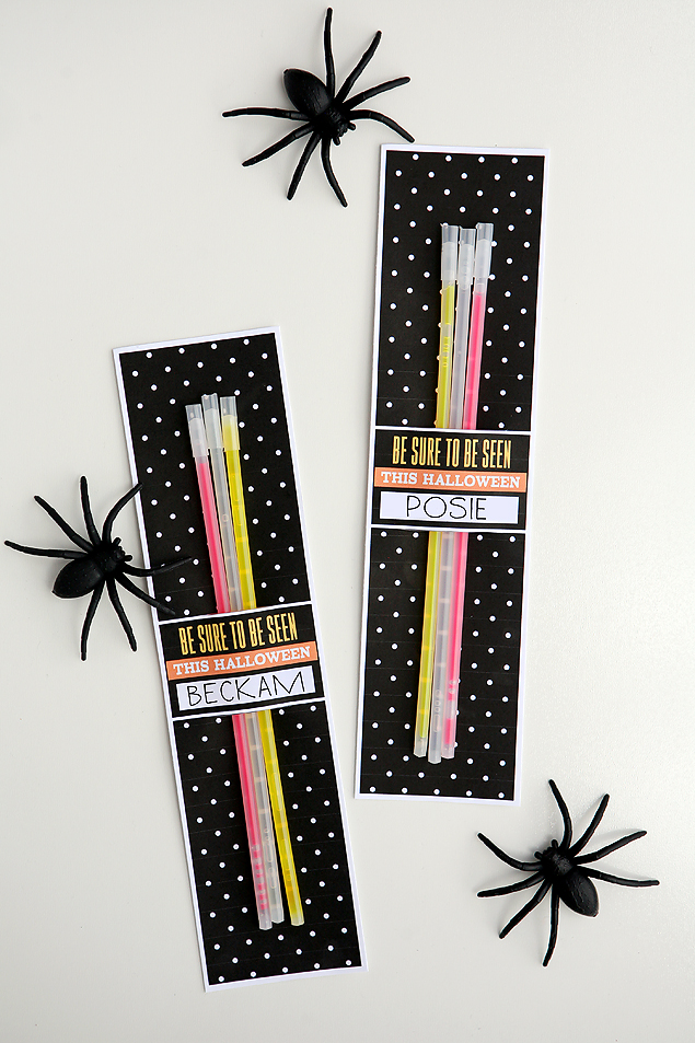 Be Sure To Be Seen This Halloween   Halloween Glow Sticks