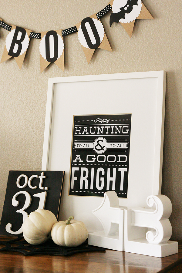 Happy Haunting Printable
