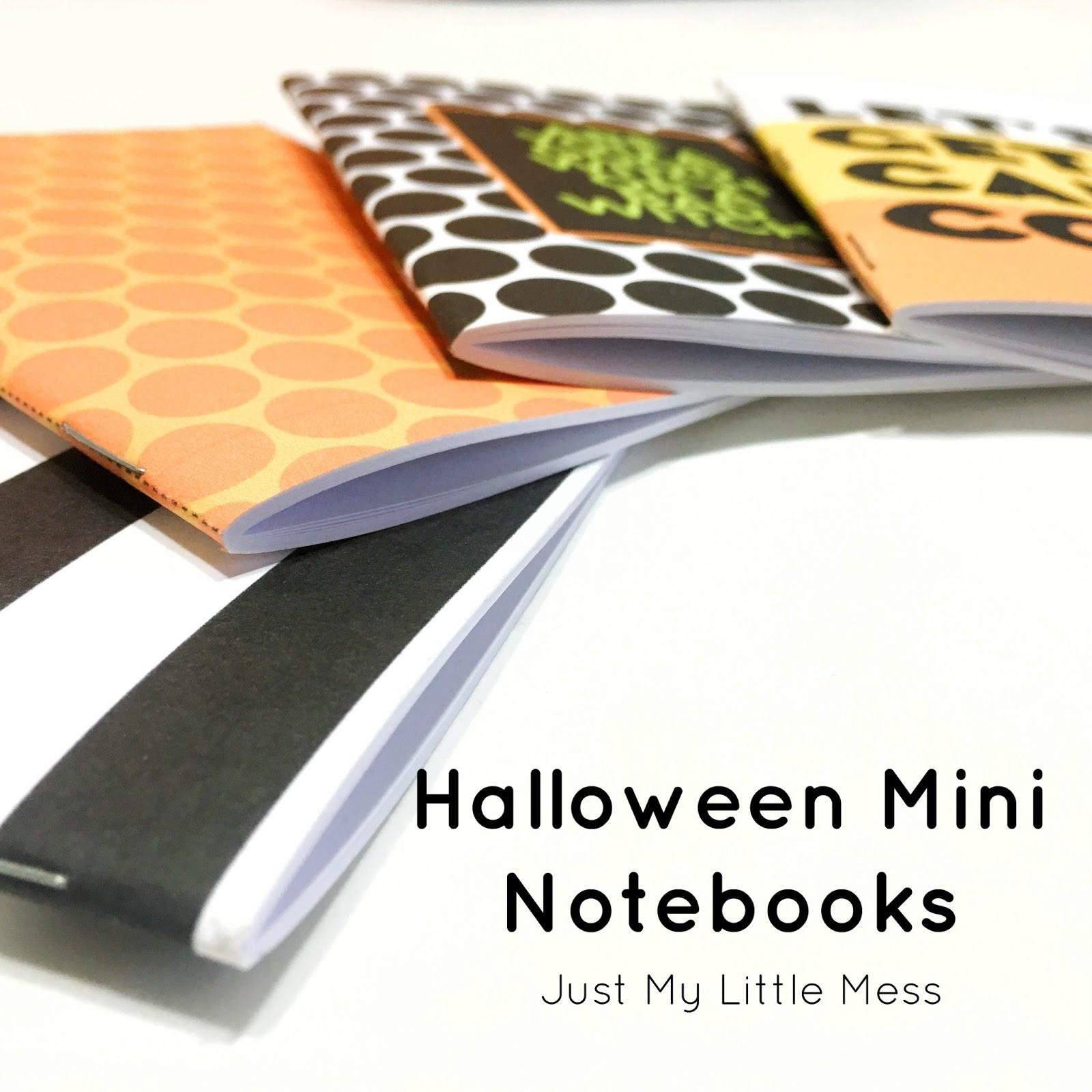 Printable Halloween Journals