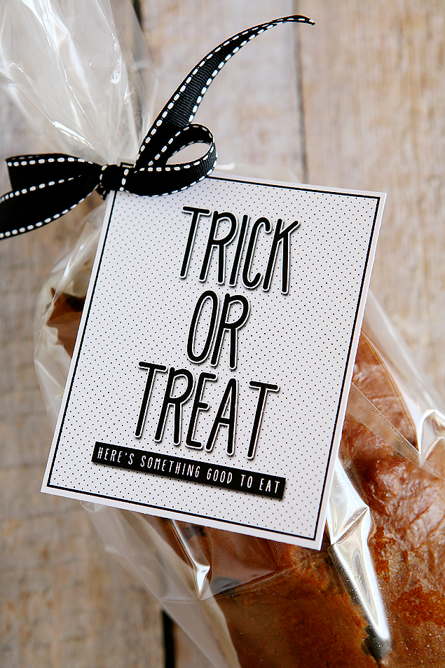 Trick or Treat - Here's Something Good To Eat | Free Halloween Printables