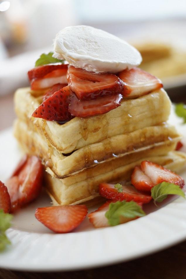 Homemade Waffle Batter Recipe | Breakfast Recipes