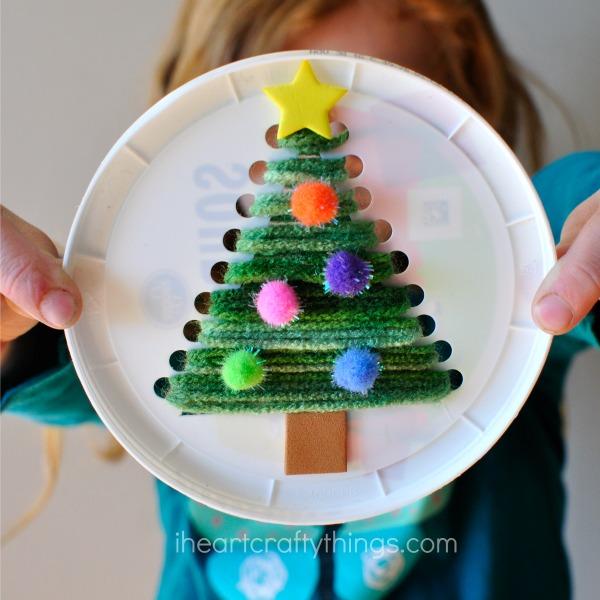Christmas Tree Sewing Craft | Christmas Kids Crafts
