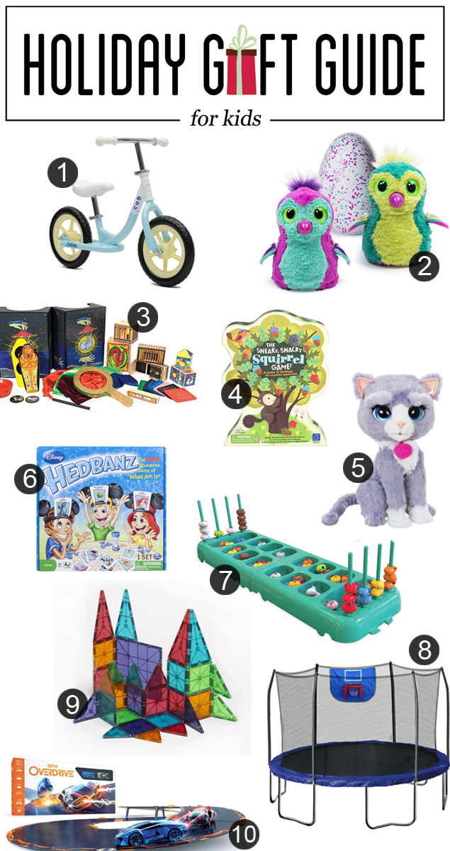 Holiday Gift Guide for Kids | Gifts For Kids