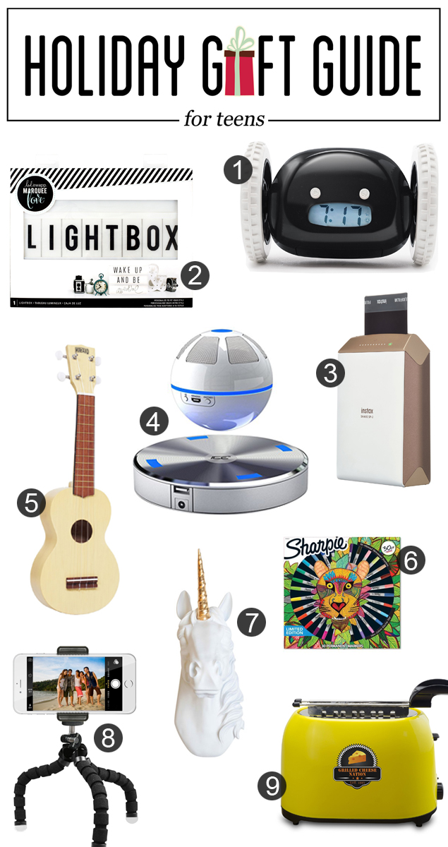Holiday Gift Guide | Christmas Gifts for Teens