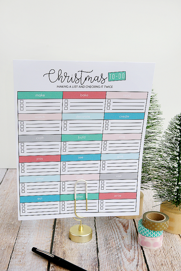 Printable Christmas To Do List | Free Christmas Printables