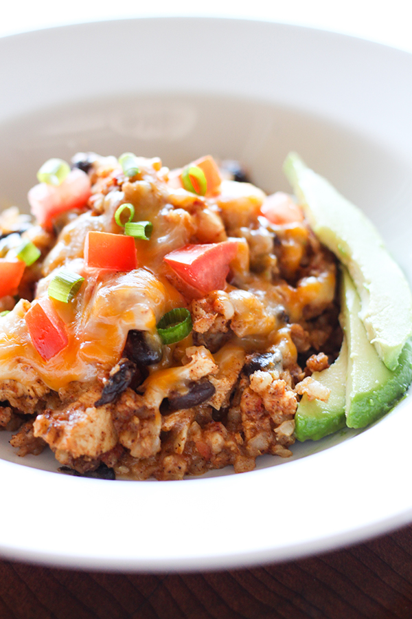 Slow Cooker Chicken Burrito Bowl by No. 2 Pencil | Our Friday Five