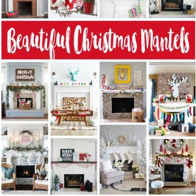 Beautiful Christmas Mantels