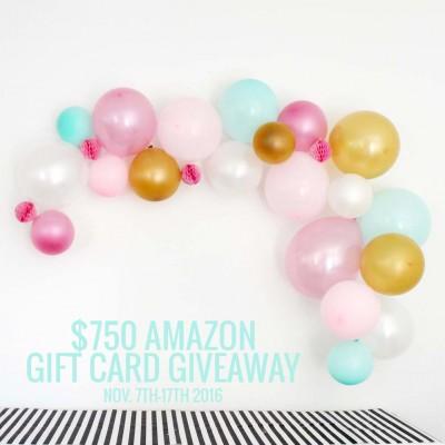Black Friday Amazon Giveaway 2016