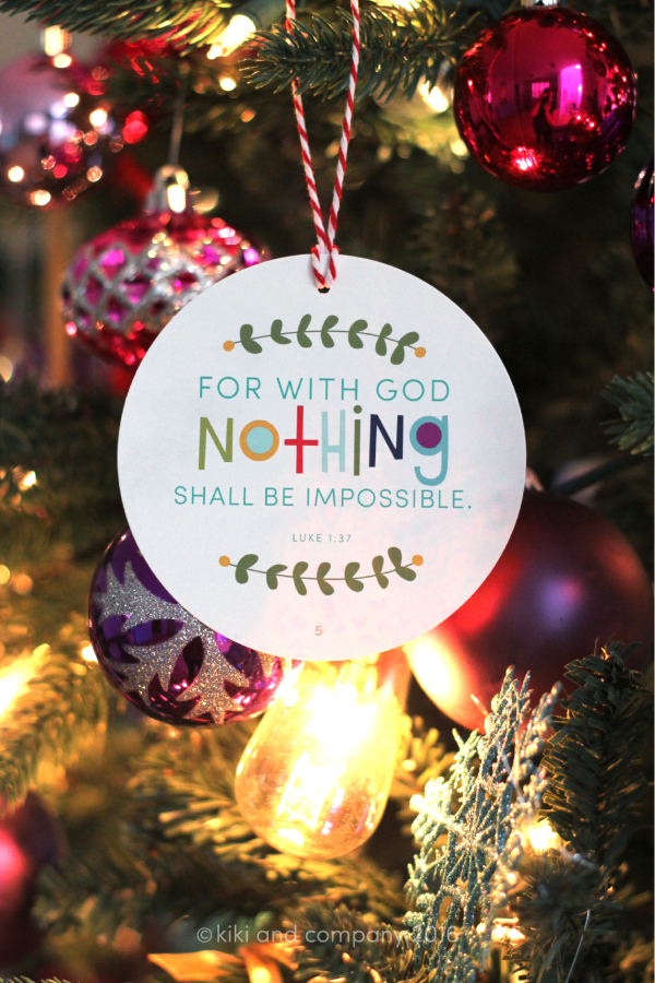 Our Friday Five | Nativity Christmas Ornaments by Kiki and Co