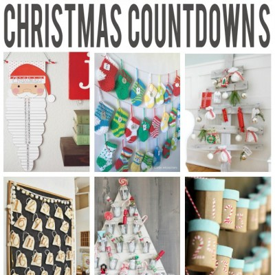20+ Fun Christmas Countdown Ideas