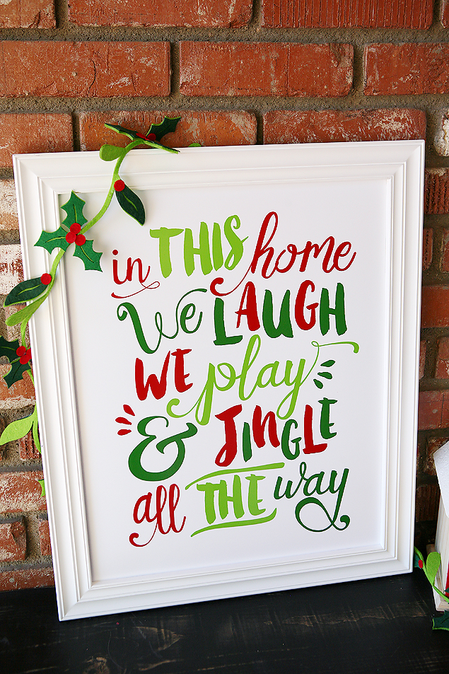 Jingle All The Way Printable