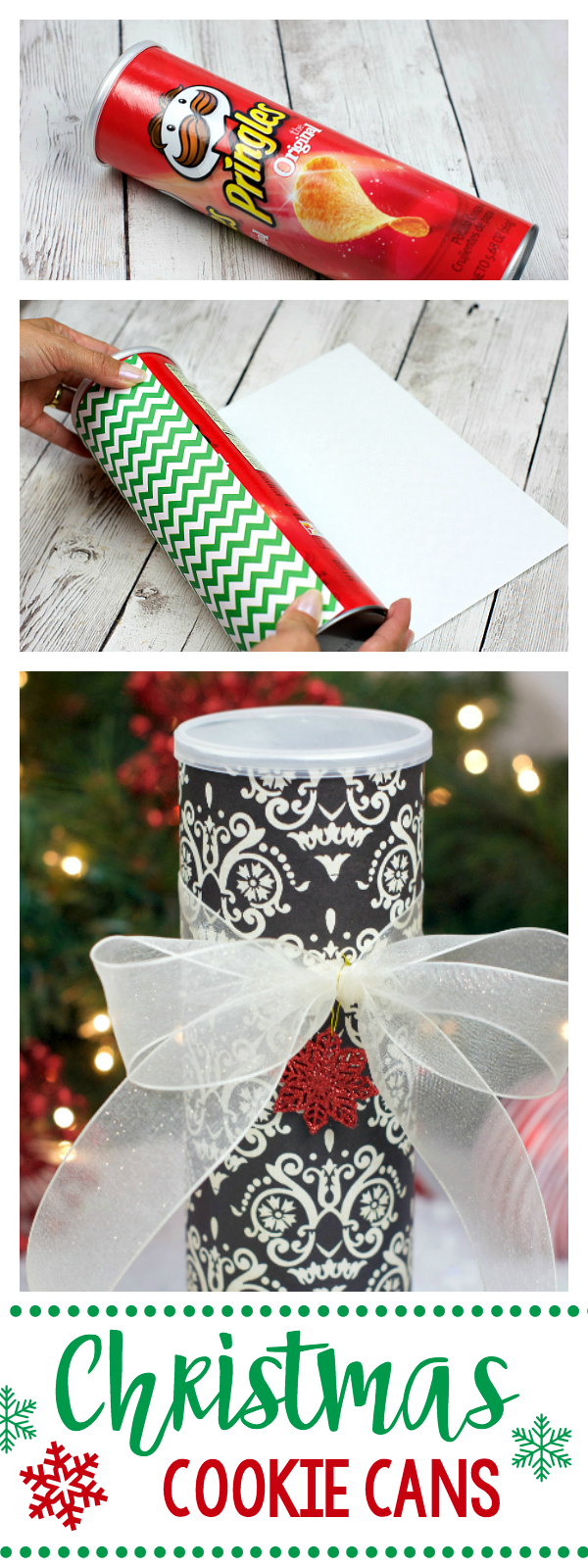 Neighbor Christmas Gift Ideas | Christmas Cookie Cans | Fun Squared