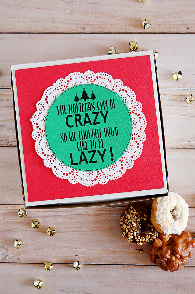 Neighbor Christmas Gift Ideas | The Holidays Can Be Crazy Gift Idea