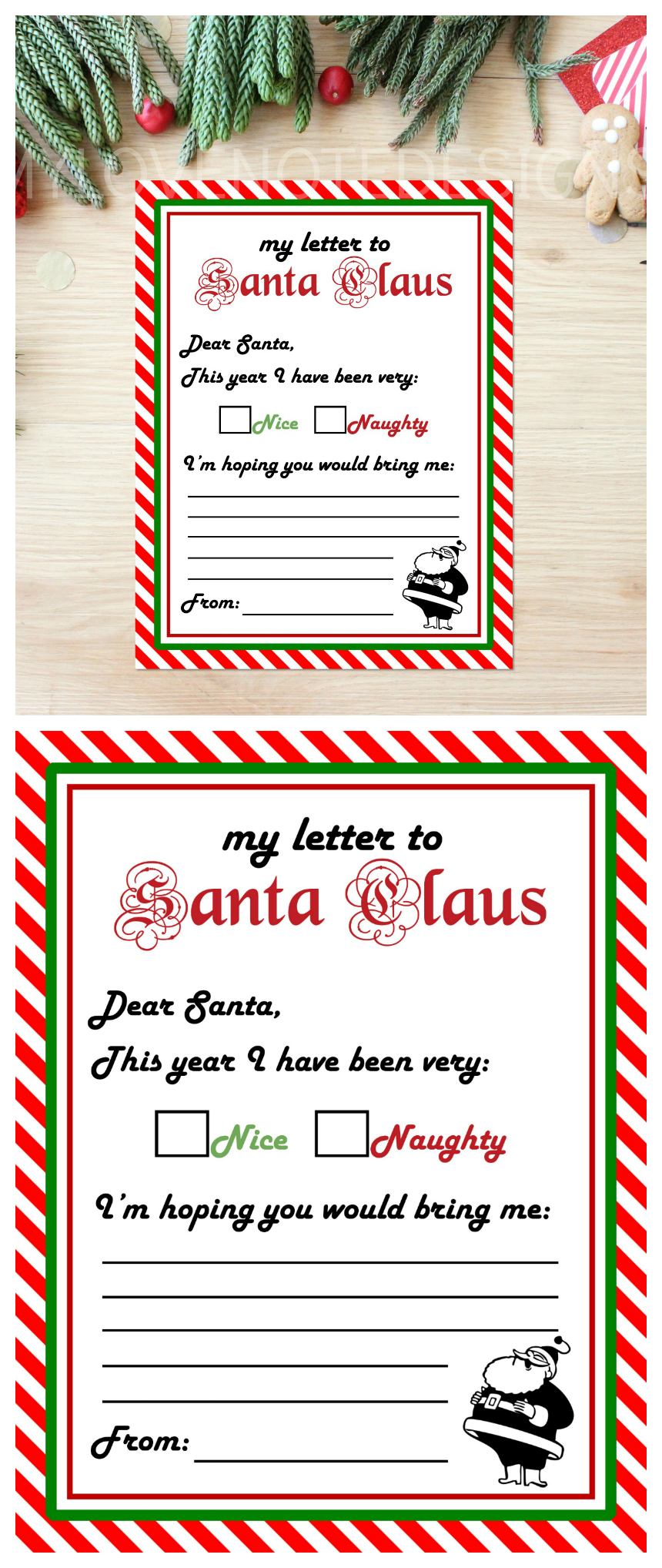 Free Printable Santa Claus Letter
