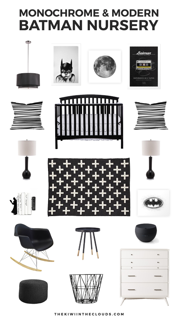 How To Create An Epic Batman Nursery Every Boy Will Love