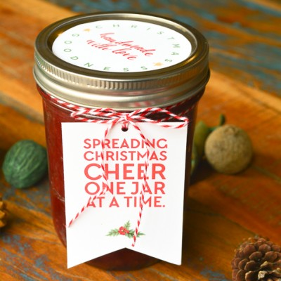 Spread Christmas Cheer Gift Tags