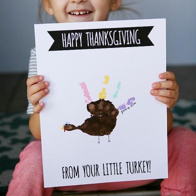 Handprint Turkey Cards