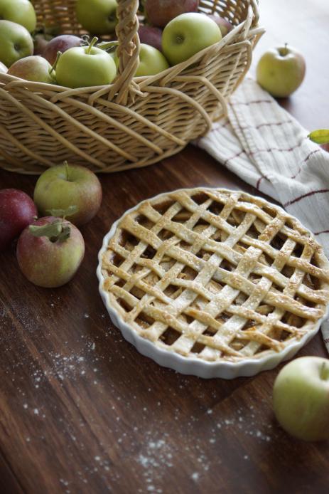 Fresh Apple Lattice Pie