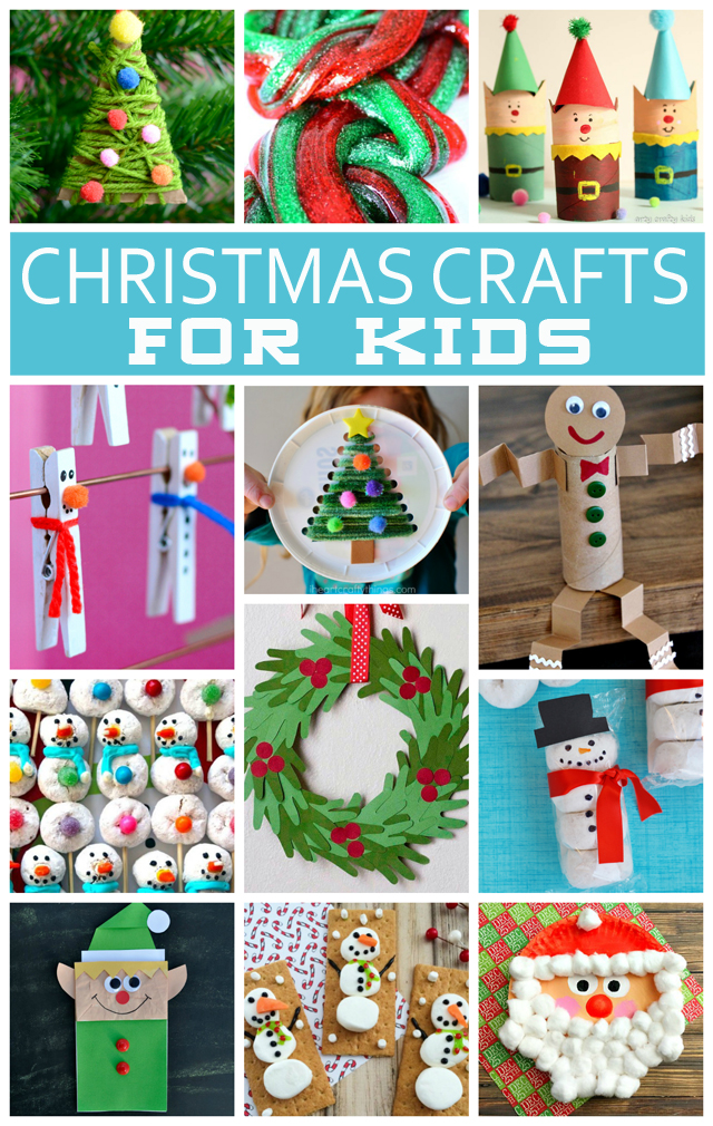 Christmas Crafts For Kids - Eighteen25