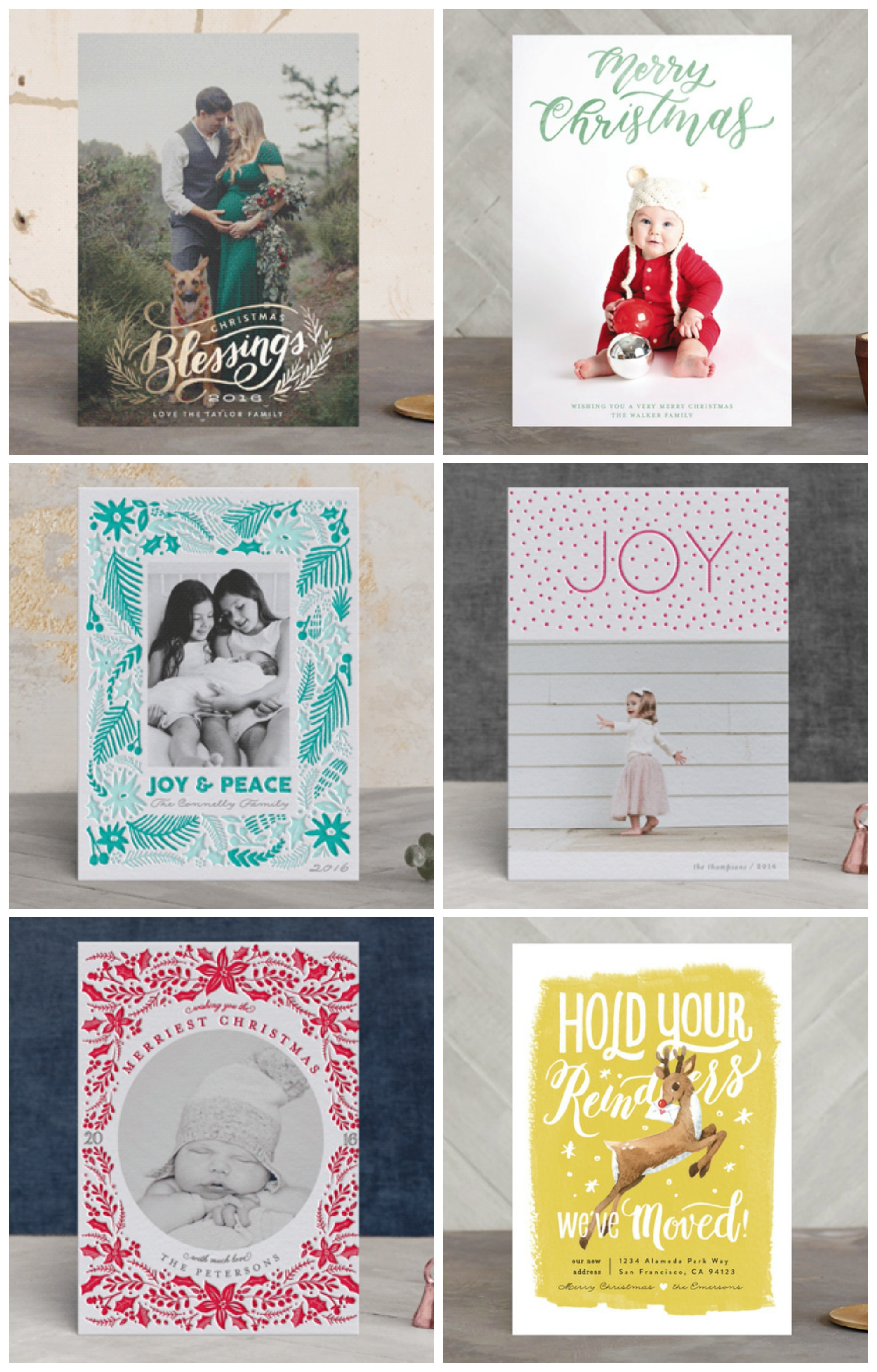 Christmas Cards and Minted Giveaway