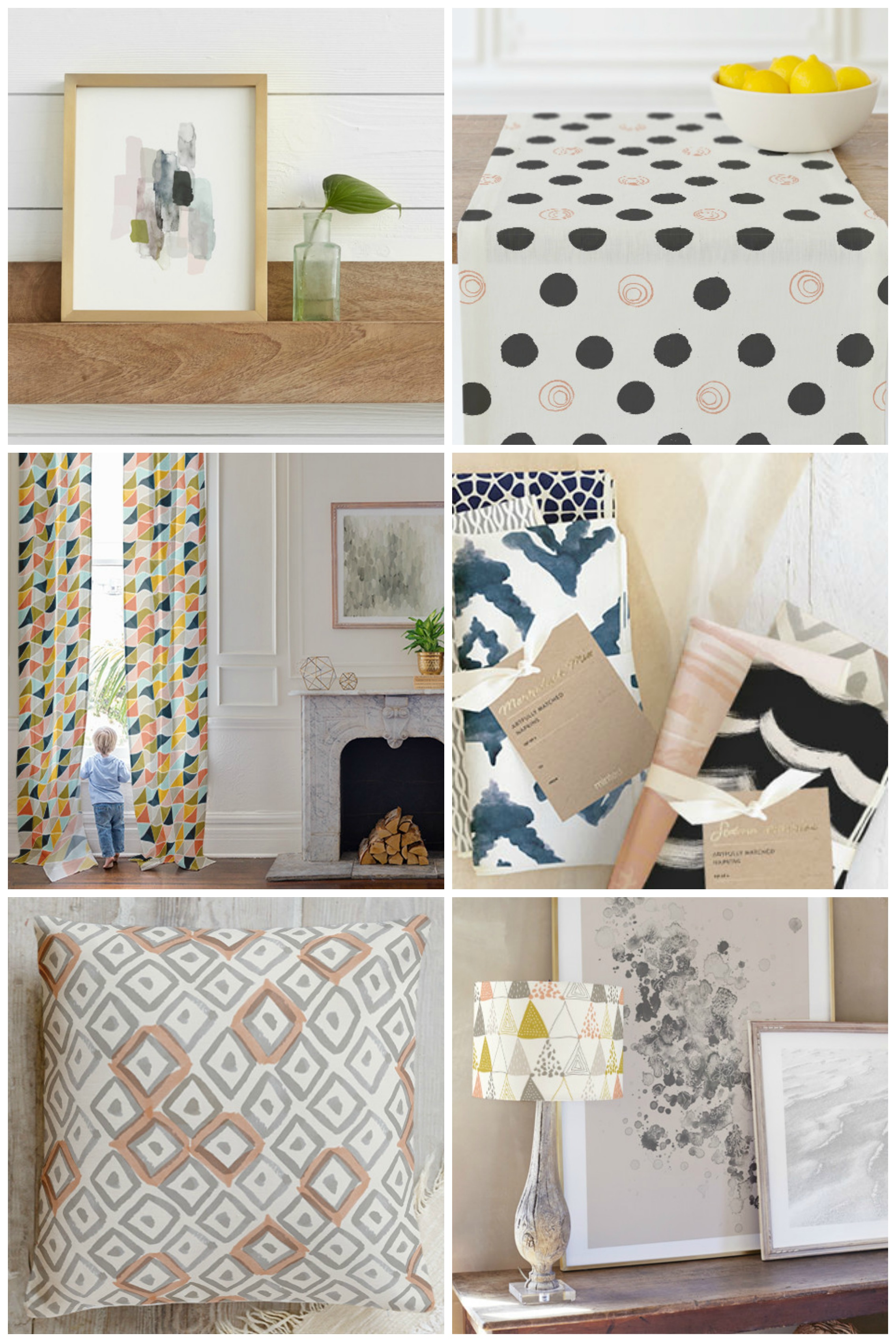 Minted Home Decor and Giveaway