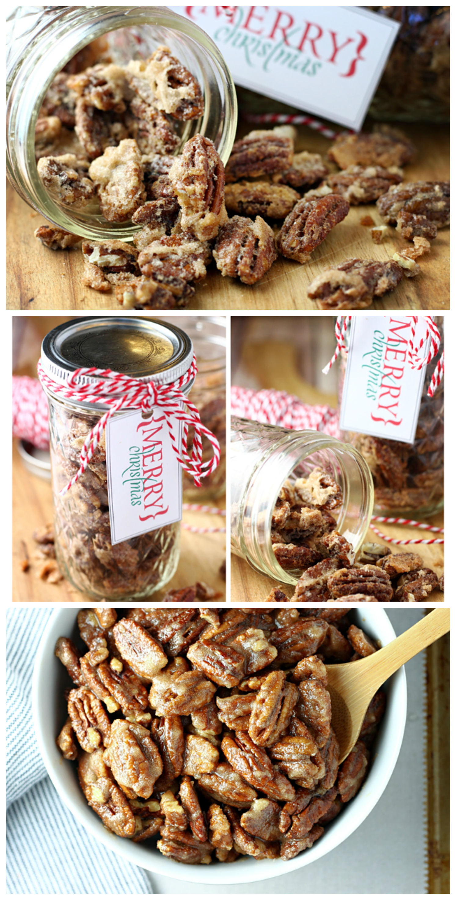 Homemade Candied Pecans | Delicious Homemade Christmas Gift