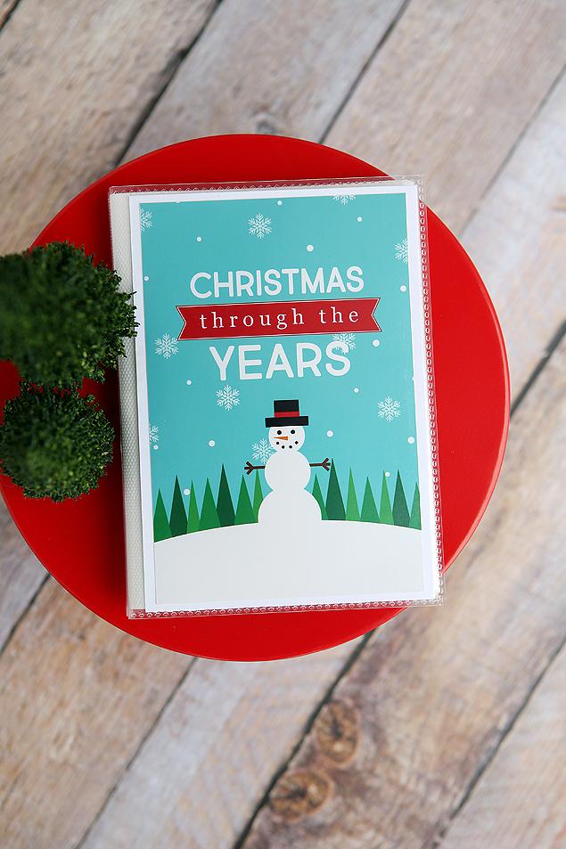 Christmas Through The Years Album   Free Christmas Printables