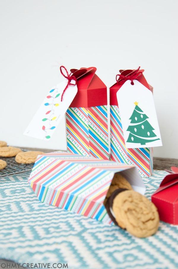 DIY Cookie Box Printables via Oh My Creative