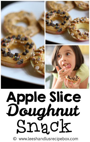 Apple Slice Donuts | Fun and Healthy Snack for Kids