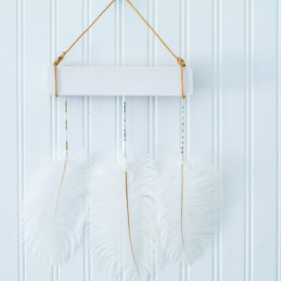 Feather Hanging Craft