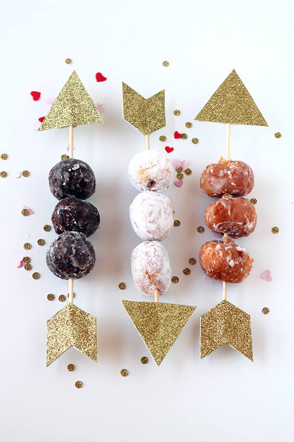 Cupids Donut Hole Arrows | SquirrellyMinds