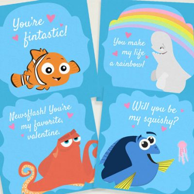 Dory Valentines Day Cards